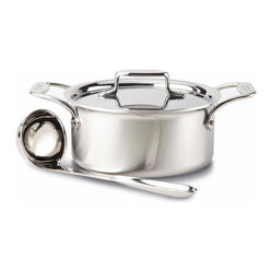 All Clad d5 Brushed SS Soup Pot Set