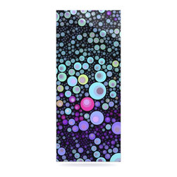 """Kess InHouse - Sylvia Cook """"Deep Blue"""" Purple Aqua Metal Luxe Panel (9"""" x 21"""") - Our luxe KESS InHouse art panels are the perfect addition to your super fab living room, dining room, bedroom or bathroom. Heck, we have customers that have them in their sunrooms. These items are the art equivalent to flat screens. They offer a bright splash of color in a sleek and elegant way. They are available in square and rectangle sizes. Comes with a shadow mount for an even sleeker finish. By infusing the dyes of the artwork directly onto specially coated metal panels, the artwork is extremely durable and will showcase the exceptional detail. Use them together to make large art installations or showcase them individually. Our KESS InHouse Art Panels will jump off your walls. We can't wait to see what our interior design savvy clients will come up with next."""