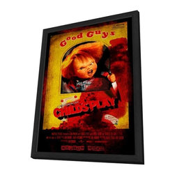 Child's Play 11 x 17 Movie Poster - Chinese Style A - in Deluxe Wood Frame - Child's Play 11 x 17 Movie Poster - Chinese Style A - in Deluxe Wood Frame.  Amazing movie poster, comes ready to hang, 11 x 17 inches poster size, and 13 x 19 inches in total size framed. Cast: White, Charles