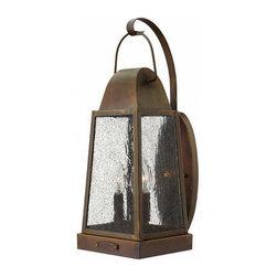 Hinkley Lighting - Hinkley Lighting 1775SN Sedgwick Sienna Outdoor Wall Sconce - Hinkley Lighting 1775SN Sedgwick Sienna Outdoor Wall Sconce