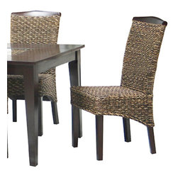Canterbury Home Furnishing - Canterbury Batu Dining Chair in Oasis (Set of 2) - Clean lines and undeniable style - the main theses of Batu collection. Canterbury Batu Dining chair reflects a design suitable for any kitchen, to any requirement. Indulge yourself in the pleasure to use high-grade furniture, created from high quality materials, embodied in perfect shape.