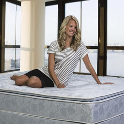Wolf Corporation - Super Plush Support Mattress in Blue (Queen) - Choose Size: Queen336 high profile coil unit. Foam encased border. Extra comfort layer of convoluted finger foam above the innerspring for a medium-soft feel.. Luxury damask quilt for extra conforming comfort. Upholstered with convoluted foam for plush feel. 12 in. rollable mattress. Warranty: 5 years. Made from innerspring, cotton and foam. No assembly required. Twin: 75 in. L x 39 in. W x 12 in. H (52 lbs.). Full: 75 in. L x 54 in. W x 12 in. H (60 lbs.). Queen: 80 in. L x 60 in. W x 12 in. H (65 lbs.). King: 80 in. L x 76 in. W x 12 in. H (71 lbs.)Wolf's advanced cotton and polyester quilt with premium damask cover helps the body breathe and maintain an ideal sleeping temperature throughout the night. The ortho ultra plush is ideal for side sleepers and restless sleepers.