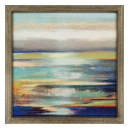 Paragon - Evening Tide - Framed Art - Each product is custom made upon order so there might be small variations from the picture displayed. No two pieces are exactly alike.