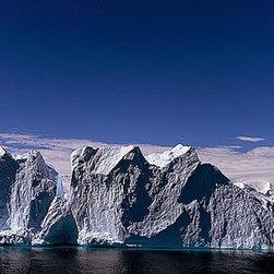 Magic Murals - Antarctica Floating Icebergs Wallpaper Wall Mural - Self-Adhesive - Multiple Siz - Antarctica Floating Icebergs Wall Mural