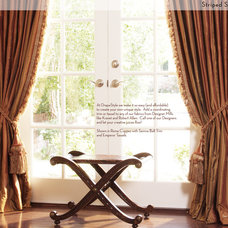 Traditional Curtains by DrapeStyle