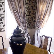 Traditional Dining Room by Rachel Hazelton Interior Design