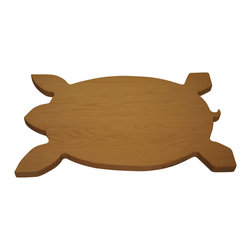 Martin Cart's - Sea Turtle Hard Maple Cutting Board - Made with Rock Hard Maple Planks