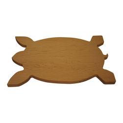 Martin Cart's - Sea Turtle Hard Maple Cutting Board - Made with Rock Hard Maple Planks