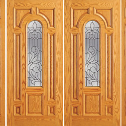 "Prehung Mahogany Center Arch Lite Front Double Door Two Sidelites - SKU#    525-A-2-2Brand    AAWDoor Type    ExteriorManufacturer Collection    Unique Entry DoorsDoor Model    Door Material    WoodWoodgrain    MahoganyVeneer    Price    3980Door Size Options    2(30"")+2(12"") x 80"" (7'-0"" x 6'-8"")  $02(30"")+2(18"") x 80"" (8'-0"" x 6'-8"")  $02(32"")+2(12"") x 80"" (7'-4"" x 6'-8"")  $02(32"")+2(18"") x 80"" (8'-4"" x 6'-8"")  $02(36"")+2(12"") x 80"" (8'-0"" x 6'-8"")  +$202(36"")+2(18"") x 80"" (9'-0"" x 6'-8"")  +$202(42"")+2(12"") x 80"" (9'-0"" x 6'-8"")  +$3402(42"")+2(18"") x 80"" (10'-0"" x 6'-8"")  +$3402(30"")+2(18"") x 84"" (8'-0"" x 7'-0"")  +$3522(36"")+2(18"") x 84"" (9'-0"" x 7'-0"")  +$3922(42"")+2(18"") x 84"" (10'-0"" x 7'-0"")  +$8322(30"")+2(12"") x 96"" (7'-0"" x 8'-0"")  +$7922(30"")+2(18"") x 96"" (8'-0"" x 8'-0"")  +$7922(32"")+2(12"") x 96"" (7'-4"" x 8'-0"")  +$7922(32"")+2(18"") x 96"" (8'-4"" x 8'-0"")  +$7922(36"")+2(12"") x 96"" (8'-0"" x 8'-0"")  +$8322(36"")+2(18"") x 96"" (9'-0"" x 8'-0"")  +$832  $Core Type    SolidDoor Style    TraditionalDoor Lite Style    Center Arch LiteDoor Panel Style    7 Panel , Raised MouldingHome Style Matching    Colonial , Plantation , VictorianDoor Construction    Engineered Stiles and RailsPrehanging Options    PrehungPrehung Configuration    Double Door with Two SidelitesDoor Thickness (Inches)    1.75Glass Thickness (Inches)    3/4Glass Type    Triple GlazedGlass Caming    BlackGlass Features    Insulated , TemperedGlass Style    Glass Texture    Glue ChipGlass Obscurity    Moderate ObscurityDoor Features    Door Approvals    FSCDoor Finishes    Door Accessories    Weight (lbs)    1190Crating Size    25"" (w)x 108"" (l)x 52"" (h)Lead Time    Slab Doors: 7 daysPrehung:14 daysPrefinished, PreHung:21 daysWarranty    1 Year Limited Manufacturer WarrantyHere you can download warranty PDF document."