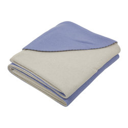 GOYO - GOYO Mongolian Cashmere Baby Blanket Swaddling 39 x 39 in., Blue - This luxuriously soft baby blanket is crafted for everyday use and is the best gift for any baby. The Mongolian brand GOYO is known for its unparalleled cashmere, yak hair and camel wool garments and accessories.