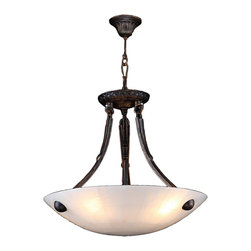 "Worldwide Lighting - Pompeii 4 Light Flemish Brass Finish Natural Quartz Stone Bowl Pendant 16"" Round - This stunning 4-light Bowl Pendant only uses the best quality material and workmanship ensuring a beautiful heirloom quality piece. Featuring a radiant flemish brass finish and natural quartz stone from Spain, this elegant pendant will liven up any room. No synthetic process could replicate the natural beauty of this beautiful quartz pendant. Worldwide Lighting Corporation is a privately owned manufacturer of high quality crystal chandeliers, pendants, surface mounts, sconces and custom decorative lighting products for the residential, hospitality and commercial building markets. Our high quality crystals meet all standards of perfection, possessing lead oxide of 30% that is above industry standards and can be seen in prestigious homes, hotels, restaurants, casinos, and churches across the country. Our mission is to enhance your lighting needs with exceptional quality fixtures at a reasonable price."
