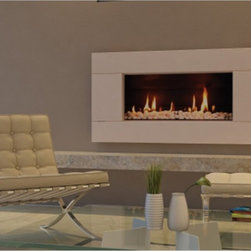 Fireplace Source North America - Escea Ferro Suede Cream Gas Fireplace Multicolor - FIRL032 - Shop for Fire Pits and Fireplaces from Hayneedle.com! You'll love the fresh modern color of your Escea Ferro Suede Cream Gas Fireplace almost as much as you do its sleek modern design. Perfect for your home this fireplace offers you a variety of options for a truly customized piece. Its elegant suede cream finish makes a divine designer statement. Choices begin within -- choose reflective sides panels or no it's all up to you. This fireplace also lets you choose the color and material of the flame bed for a more natural or dramatic look. Its sleek modern profile elevates any setting. This fireplace offers from 13 000 to 17 000 BTUs of heating power and features direct venting. It uses clean-burning natural gas and is a breeze to set up. To ensure the safety of the exhaust system it is recommended that you use a professional installer. A licensed contractor should be contacted for installation of all products involving gas lines. About EsceaEscea was founded in 2002 in New Zealand on the idea that the home fireplace should not only be functional but remarkably beautiful as well. Since their beginning the company has become a leader in the industry designing manufacturing and distributing quality gas burners and outdoor fireplaces. Escea s success has given them a world-wide clientele and has garnered them multiple awards recognizing their talents and product designs.