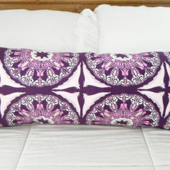 eclectic bed pillows by City Girls Decor