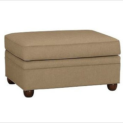 """Chesterfield Upholstered Ottoman, everydaysuede(TM) Light Wheat - Comfort and style define our Chesterfield Collection. Crafted in the America using eco-friendly components, our ottoman works equally well as additional seating or as a footrest companion to the Chesterfield Sofa or Armchair. 38"""" w x 27"""" d x 21"""" h {{link path='pages/popups/PB-FG-Chesterfield-3.html' class='popup' width='720' height='800'}}View the dimension diagram for more information{{/link}}. {{link path='pages/popups/PB-FG-Chesterfield-4.html' class='popup' width='720' height='800'}}The fit & measuring guide should be read prior to placing your order{{/link}}. Ottoman has a polyester wrapped cushion. Proudly made in America, {{link path='/stylehouse/videos/videos/pbq_v36_rel.html?cm_sp=Video_PIP-_-PBQUALITY-_-SUTTER_STREET' class='popup' width='950' height='300'}}view video{{/link}}. For shipping and return information, click on the shipping info tab. When making your selection, see the Special Order fabrics below. {{link path='pages/popups/PB-FG-Chesterfield-5.html' class='popup' width='720' height='800'}} Additional fabrics not shown below can be seen here{{/link}}. Please call 1.888.779.5176 to place your order for these additional fabrics."""