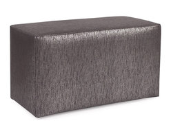 Howard Elliott - Glam Zinc Universal Bench - Simple design, infinite uses. benches make great side tables, ottomans, alternate seating and more. Constructed by our expert craftsmen, our benches are made with a sturdy base and high-density foam.
