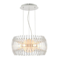Iberlamp - Iberlamp C180-S-WH Terra 12 Light 1 Tier Chandelier - Features: