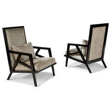 Contemporary Living Room Chairs by Thayer Coggin