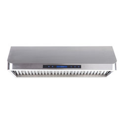Cavaliere - Cavaliere-Euro AP238-PS13-30 Under Cabinet Mount Range Hood - Cavaliere Stainless Steel 260W Under Cabinet Range Hoods with 4 Speeds, Timer Function, LCD Keypad, Stainless Steel Baffle Filters, and Halogen Lights.