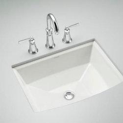 KOHLER - KOHLER K-2355-0 Archer Under-Mount Bathroom Sink - KOHLER K-2355-0 Archer Under-Mount Bathroom Sink in White