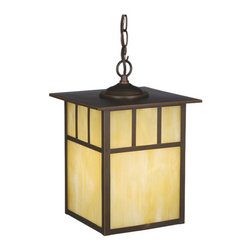 Vaxcel Lighting - Vaxcel Lighting OD37296 Mission 1 Light Large Outdoor Pendant - Product Features: