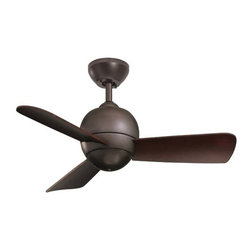 """Fifthroom - 30"""" Oil Rubbed Bronze Tiloh Outdoor Ceiling Fan - An outdoor ceiling fan can provide more than necessary air flow throughout an outdoor room.  It can also make a dramatic statement.  The oil rubbed bronze will offer you an elegant focal point at the highpoint of your room.  Don�t let your appliances just fade into the background; make them a coordinated part of your d�cor!"""