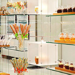 Cable Suspended Glass Shelves & Showcases -