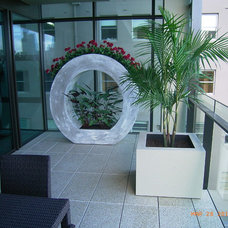 Outdoor Pots And Planters by H2O Designs