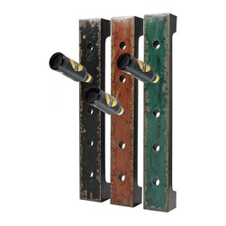 Joshua Marshal - Set Of 3 Wall Hanging Wine Racks - Set Of 3 Wall Hanging Wine Racks