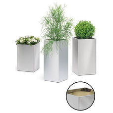 Contemporary Outdoor Planters by PureModern