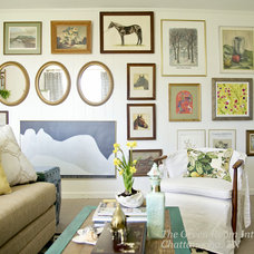 Eclectic Family Room by The Green Room Interiors