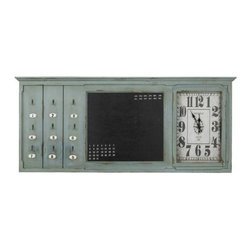 Cooper Classics - Linton Table Clock - Beautiful and Bold this Linton Table Clock will make great time and