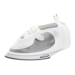 Brentwood Appliance Inc - Brentwood MPI-57 Full Size Steam/Spray/Dry Iron with Corded Storage Multicolor - - Shop for Irons from Hayneedle.com! Wrinkles won't stand a chance against the Brentwood MPI-57 Full Size Steam/Spray/Dry Iron with Corded Storage. This steam iron features dry steam and spray settings including a vertical steam setting for added convenience. The see-through water compartment makes it easy to identify whether or not you need a fill-up retractable cord storage saves storage space and a power light indicator lets you know if the iron is still on or not. Measures 11L x 6W x 7H inches.About Brentwood Appliances Inc.With a product line spanning from coffee makers and can openers to Dutch ovens sauce pans and more Brentwood Appliances Inc. proudly offers an excellent selection of small appliances and cookware. Committed to keeping customers satisfied Brentwood Appliances focuses on providing best-quality best-priced products and top-notch customer service.