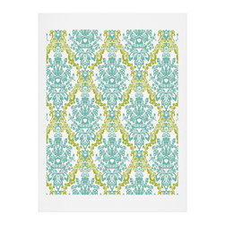 DENY Designs - DENY Designs Rebekah Ginda Design Lovely Damask Art Print - Finally an affordable wall art option! Order one statement print or live on the edge and dream up an entire gallery wall. And whether you frame it or hang it as-is, your walls will be big on inspiration while being kind on your pocketbook.