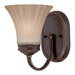 Quoizel Lighting - Quoizel Lighting ALZ8601PN Aliza 1 Light Bathroom Sconce - For over seventy years, Quoizel lighting has been dedicated to the design and production of its diversified line of fine lighting products and home accessories.