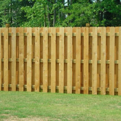 Wood Privacy Fences -