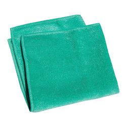e-cloth - e-cloth General Purpose Cloth, Green - The original e-Cloth General Purpose Cloth has received a facelift and is now available in five attractive colors: blue, yellow, green, coral, and violet. Like the original e-Cloth, the colored general-purpose cloths measure 12.5 inches by 12.5 inches in size.