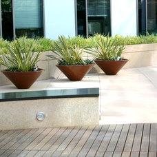 Modern Landscape by BlueGreen Landscape Design