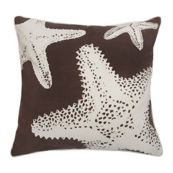 Thomas Paul - Outdoor Collection, Starfish Pillow - Designed by Thomas Paul, part of the Thomas Paul Outdoor Family. Cover zips off for easy cleaning.