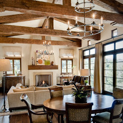 traditional family room by Dean J.Birinyi