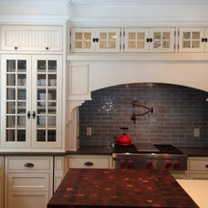 Traditional Kitchen Cabinets by Deborah James Kitchens