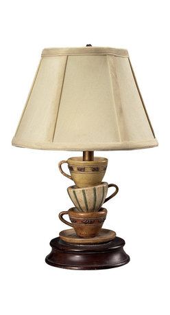 Sterling Industries - 1 Light Stacked Tea Cups Table LampStacked Tea Cups Accent Lamp Collection - Sterling Industries was founded in the mid-1990s to fulfill a dream.