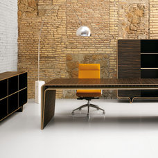 modern desks by Haworth Collection