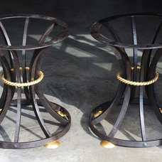 Contemporary Table Tops And Bases by Heritage Metalworks, Ltd.