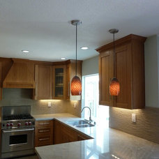 Modern Kitchen Island Lighting by Artisan Crafted Home