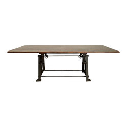 V3 Large Dining Table, Reclaimed Wood