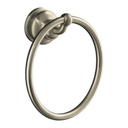 KOHLER - KOHLER K-12165-BN Fairfax Towel Ring - KOHLER K-12165-BN Fairfax Towel Ring in Vibrant Brushed Nickel