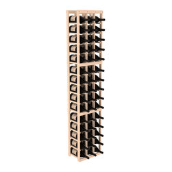 Wine Racks America - 3 Column Magnum/Champagne Wine Kit in Pine, (Unstained) Pine - Easy to expand or add to an existing cellar, this Magnum wine racking kit is designed for ultimate flexibility. Our specialized magnum rack accommodates 2 whole cases of abnormally shaped bottles, and then some! We promise this rack will stand up to the test of time.