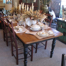 Traditional Dining Room by Kate Madison