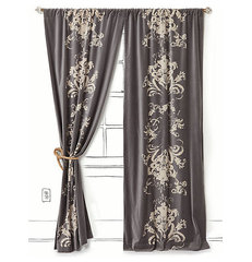 traditional curtains by Anthropologie
