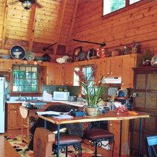 Barn wood kitchen (before)